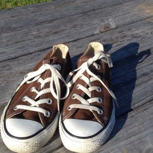 Converse all star brown